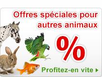 Offres spéciales pour autres animaux